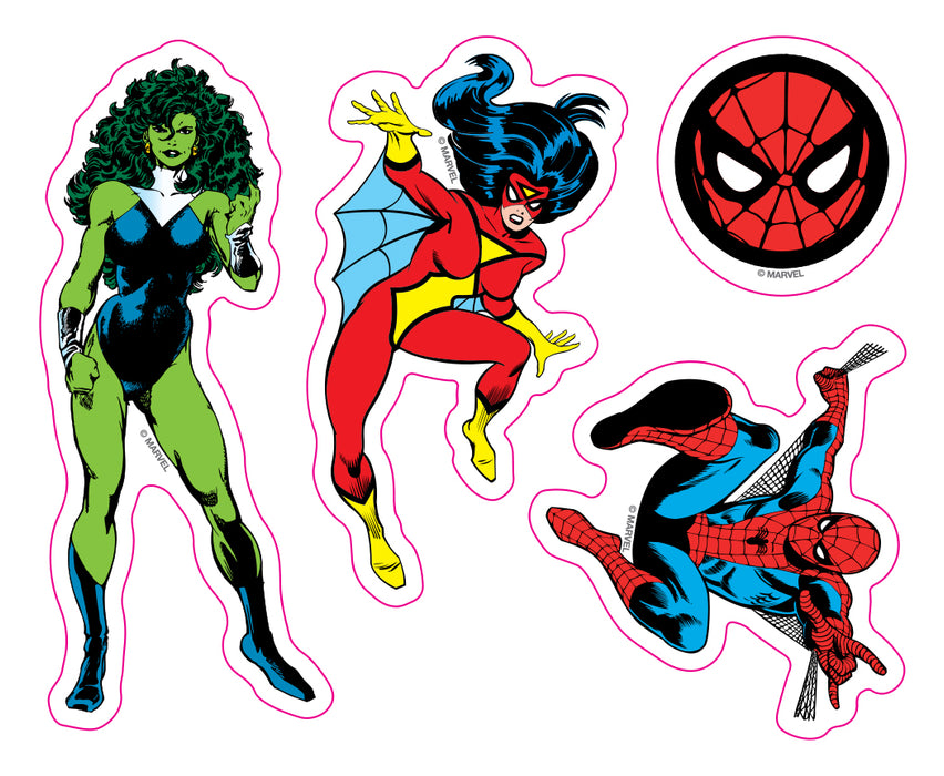 Marvel Comics Car Window Decal Pack