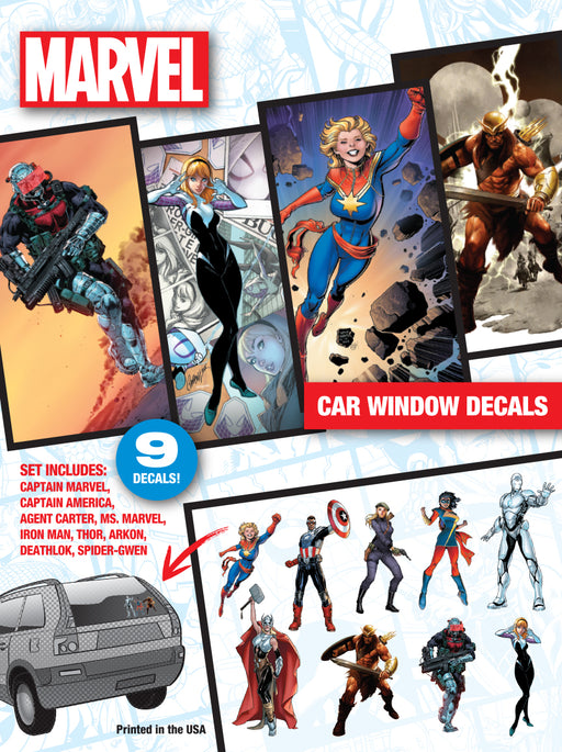 Marvel Now Car Window Decal Pack