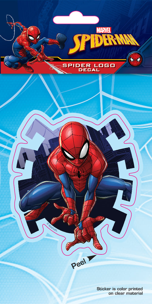 Spider-Man Spider Logo 4x8 Car Windown Decal