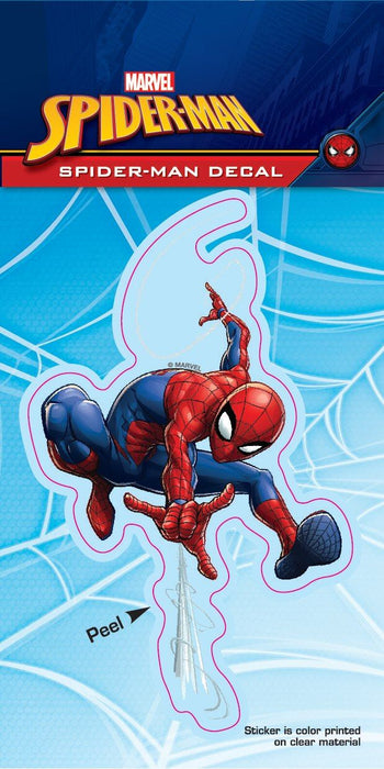 Spider-Man Swinging Tri-Language 4x8 Decal