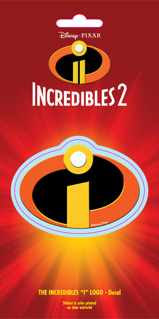 Disney Incredibles Logo 4x8 Decal
