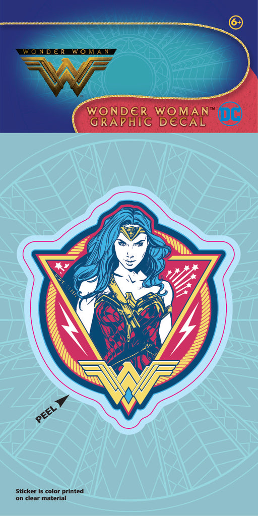 Wonder Woman Movie Color Patch 4x8 Decal