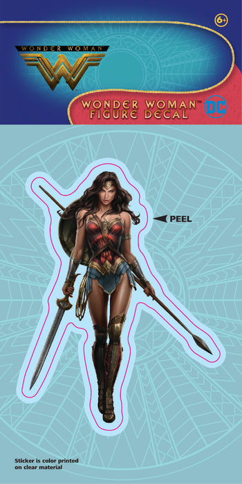 Wonder Woman Movie Figural 4x8 Decal