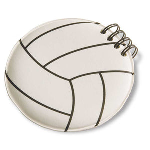 Volleyball Round Notepad