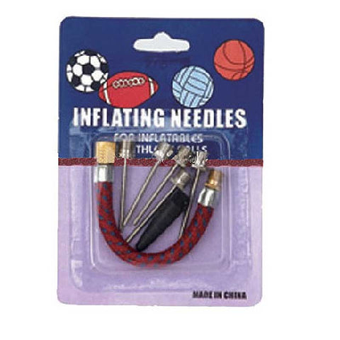 Inflation Needles + Hose (5pk)