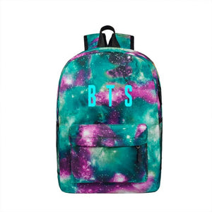 Backpack Stylish Galaxy Stars Universe Space School Book bag school backpack for teenagers Mochilas feminina