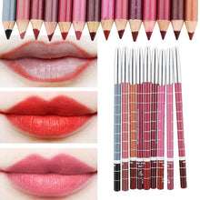 Load image into Gallery viewer, Professional Multi-functional Lipliner Pencil Long Lasting Waterproof Lip Eye Brow Cosmetic Makeup Colorful Lip Liner Pens