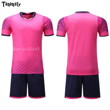 Load image into Gallery viewer, Adult Football-Jerseys Boys girl Shirt Customize Kids Soccer Jerseys Sets Training Suit Printing Short Seelve Sport Clothing