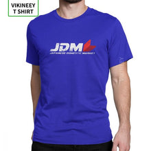 Load image into Gallery viewer, Man's T Shirt JDM T-Shirts Japanese Car Sportcar Engine Paint Splash Novelty Short Sleeve Tees Clothes 100% Cotton New Arrival