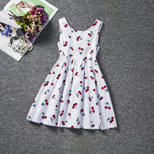Load image into Gallery viewer, New Arrival Petal Sleeve Girls Spring Summer Dress Flower Wedding Dresses Solid Children Party Costumes Kids Baby Clothing 3 7Y