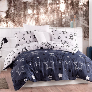 Lady Moda Star Luxury Bed Linen Cotton Set Ranforce Bedding Set Twin/Full/Queen/King Size 3/4/5 pcs Bed Sheet Duvet Cover Set