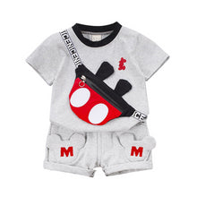 Load image into Gallery viewer, New Summer Baby Clothes Suit Children Fashion Boys Girls Cartoon T Shirt Shorts 2Pcs/set Toddler Casual Clothing Kids Tracksuits