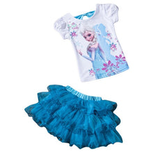 Load image into Gallery viewer, Children Clothing 2020 Summer Toddler Girls Clothes T-shirt+Skirt 2pc Outfit Suit Kids Clothes Tracksuit For Girls Clothing Sets