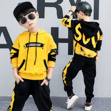 Load image into Gallery viewer, Toddler Boys Clothing Set Tracksuit Children Baby Girls Clothing Set  Casual Sports Suits Boys Hoodie Jacket Pants Clothes 2020