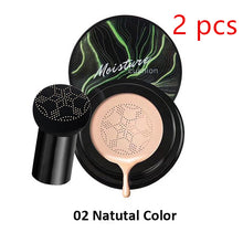 Load image into Gallery viewer, Mushroom Head Make up Air Cushion Moisturizing Foundation Air-permeable Natural Brightening Makeup BB Cream