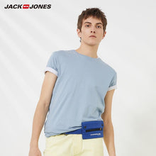 Load image into Gallery viewer, JackJones Men's Cotton T-shirt Solid Color Ice Cool Touch Fabric Men's Basic Top Fashion t shirt Jack Jones tshirt 220101546