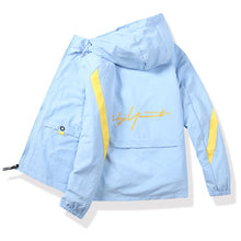 Load image into Gallery viewer, DIMUSI Men's Polit Bomber Jackets Casual Male Outwear Thin Breathable Coats Summer Mens Sunscreen Slim Fit Jackets Clothing