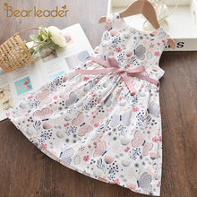 Load image into Gallery viewer, Bear Leader Girl Princess Dress New Summer Kid Girls Dress Floral Sweet Children Party Suits Butterfly Costume Children Clothing