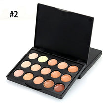 Load image into Gallery viewer, New Face Concealer Makeup Palette +Brushes +Puff Face Base Foundation Bronzer Concealer Contour Pallete Make Up Cosmetics Set
