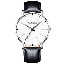 Load image into Gallery viewer, 2020 Minimalist Men's Fashion Ultra Thin Watches Simple Men Business Stainless Steel Mesh Belt Quartz Watch Relogio Masculino