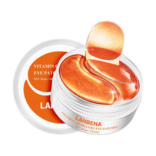 Load image into Gallery viewer, LANBENA Vitamin C Face Serum Whitening Skin Care Makeup Base Essence Firming Eye Patches Facial Cream Improving Dull Freckle