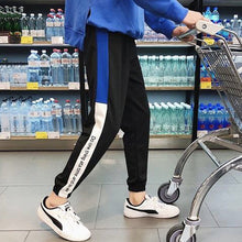 Load image into Gallery viewer, Hip Hop Women Casual Trousers Black Loose Streetwear Pants High Waist Pockets Trousers Female Plus Size Sport Pants 5XL