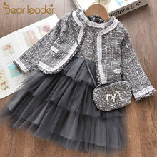 Load image into Gallery viewer, Bear Leader Girls Princess Dress New Brand Party Dresses Kids Girls Clothing Elegant Cute Girl Outfit Children Clothing Vestido
