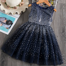 Load image into Gallery viewer, Girls Dress 2020 New Elsa Dress Girl Party Vestidos Cosplay Girl Clothing Anna Snow Queen Birthday Princess Dress Kids Costume