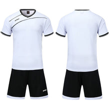 Load image into Gallery viewer, 2020 New Mens/Boys Soccer Jerseys Set Kids Football Kits Children Futbol Training Suit Breathable Futsal Uniforms Custom Print