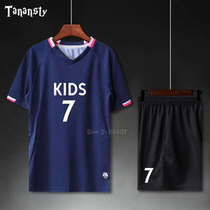 Soccer jerseys kids soccer sets camo youth football customized uniforms kits boys survetement football 2019