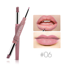 Load image into Gallery viewer, MISS ROSE Double-end Sexy Functional Lips Pencil Lip Liner Set Lipstick Pen Waterproof Long Lasting Pigment Makeup Cosmetics