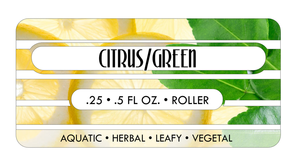 Citrus/Green Perfume Oils