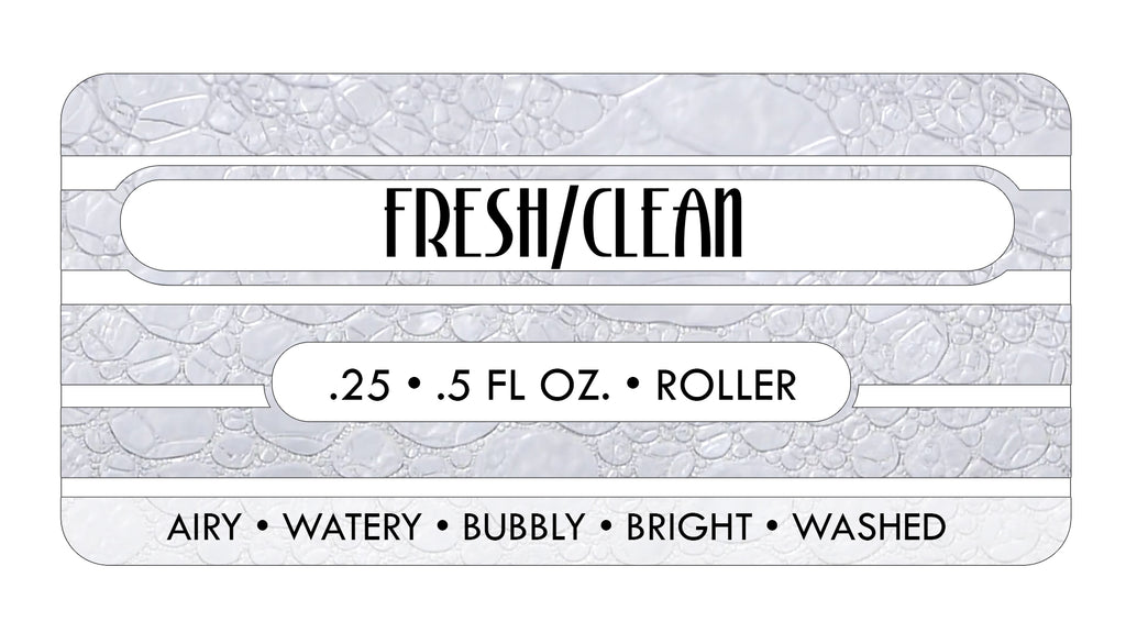 Fresh/Clean Perfume Oils