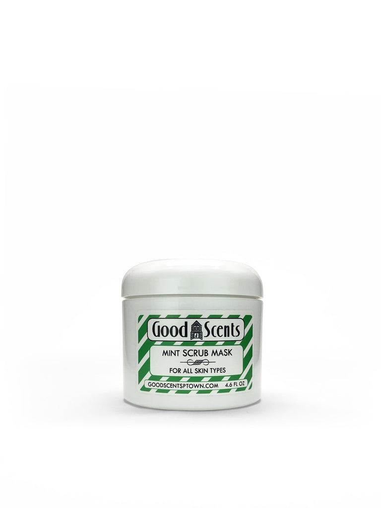 Mint Scrub Mask