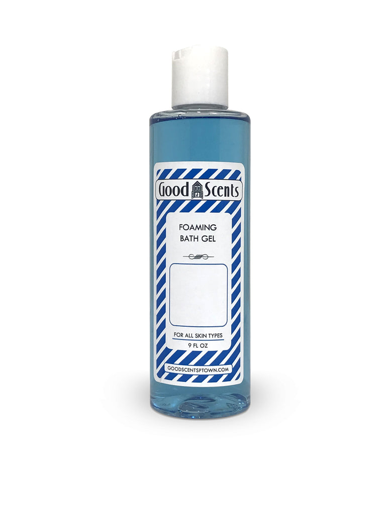 Foaming Bath Gel: Blue