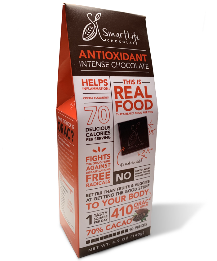 Antioxidant Intense Chocolate |  30-Day Supply