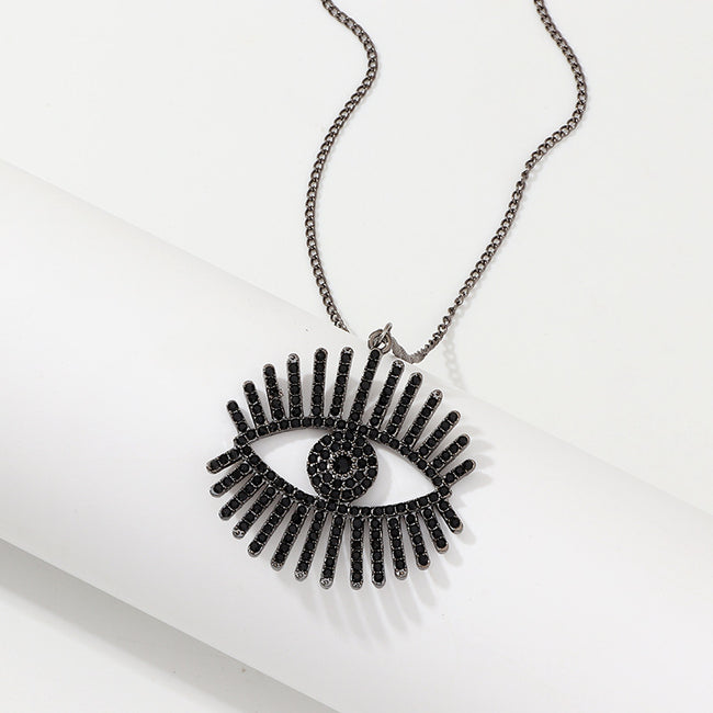 Retro Devil's Eye Necklace-Accessories-coolbuyshopstore