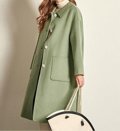 Women's Cashmere Coat-3 Colors
