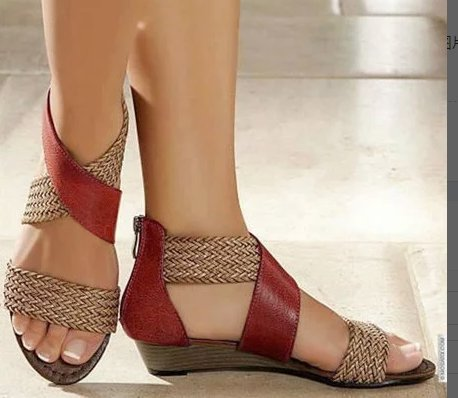 Cross Zipper Sandals-Shoes-coolbuyshopstore