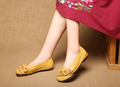 __IMITED__asual Flower Candy Color Flat Shoes - coolbuyshopstore