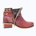 Fashion Handmade Vintage Style Leather Women's Boots-Shoes-coolbuyshopstore