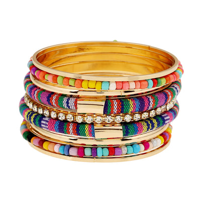 Fashion Bohemian Cloth Bracelet