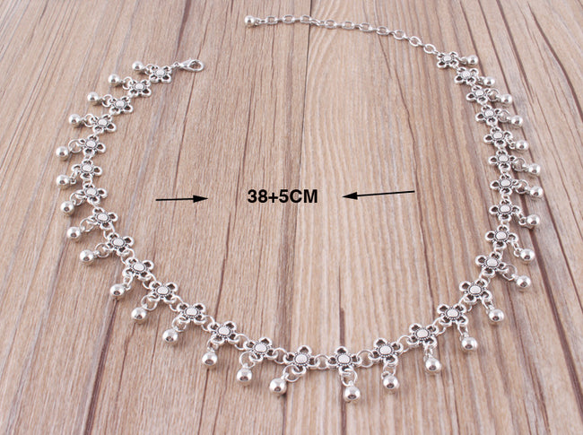 Hollow Water Droplets Carved Crystal Moon Multi-layer Necklace - coolbuyshopstore
