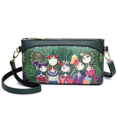 Bohemian Forest Series Print  Purse