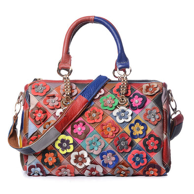 Flower Fashion Colorful Handbag
