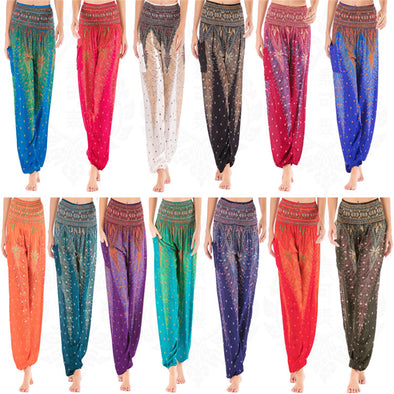 Boho Yoga Pants Travel Pants