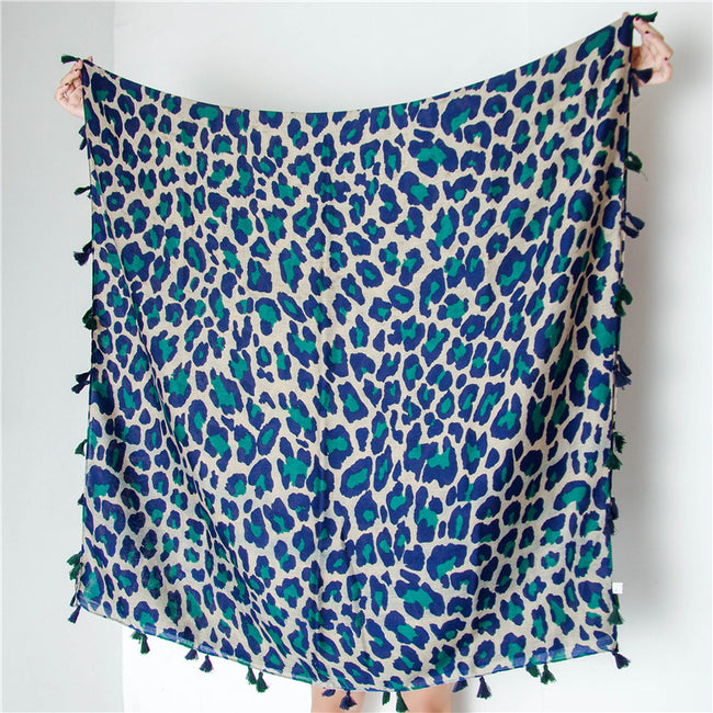 Classic Fashion Leopard Scarf - coolbuyshopstore