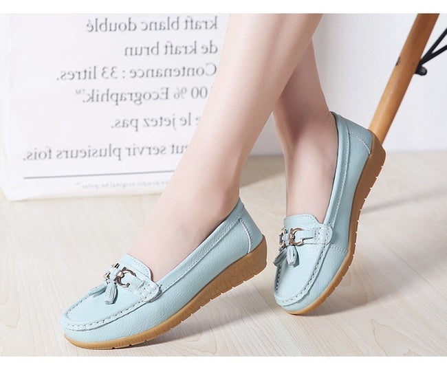 Fashion Casual Round Toe Loafers - coolbuyshopstore