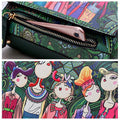 Women Bohemian Forest Series Print Crossbody Bags Large Capacity Handbags - coolbuyshopstore