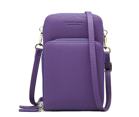 Fashion Large Capacity  Solid Ten Color Multi-Function Handbag